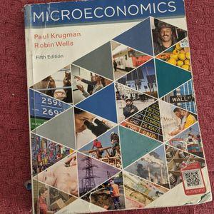 Micro Economics Textbook for Sale in Albuquerque, NM
