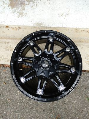 Black 20 x 10-6X135/139.7 PCD Offset 24mm for Sale in Bryans Road, MD