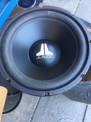 """12"""" jl audio w3 for Sale in Vista, CA"""