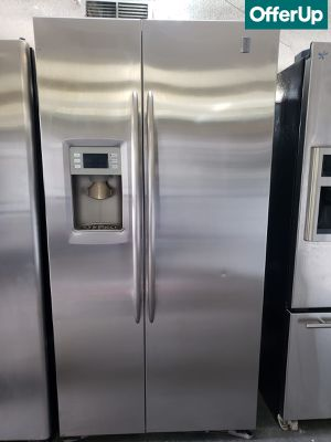 🚚💨Stainless Steel GE Refrigerator Fridge Free Delivery #1157🚚💨 for Sale in Ontario, CA