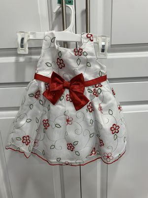 Baby Girl Christmas Dress Size 12M for Sale in Tacoma, WA
