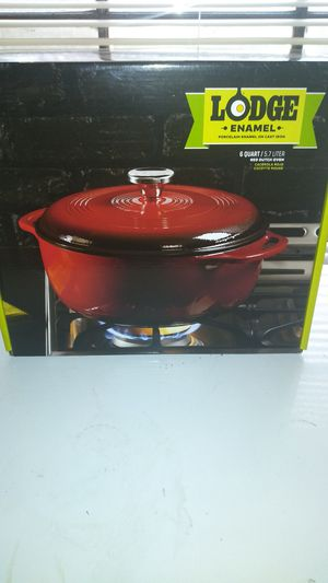 Red Cast iron Dutch Oven for Sale in Nashville, TN