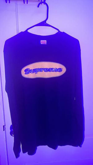 supreme ripple LS Tee black for Sale in Chevy Chase, MD