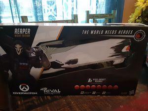 Nerf rival overwatch reaper gun for Sale in Austin, TX