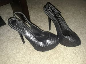 Sequin black heels for Sale in Mount Lebanon, PA