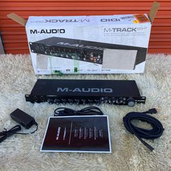 M-Audio M-Track Eight High-Resolution USB 2.0 Audio Interface with Octane Preamp Technology for Sale in Las Vegas,  NV