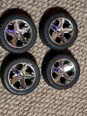 RC Street Tires/Wheels, 1/10 Scale. for Sale in Alexandria, LA