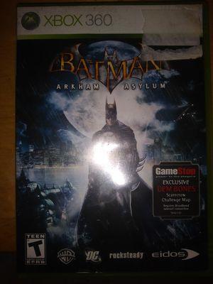 Batman Arkham Asylum - Xbox 360 for Sale in Hialeah, FL