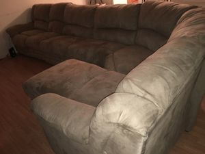 Tan Brown Sectional for Sale in Berkeley, MO