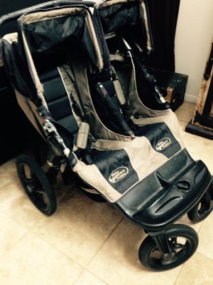 Baby jogger double stroller easy ride and fold for easy storage for Sale in Chula Vista, CA
