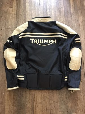 Triumph official riding jacket. Size 46 for Sale in Columbus, OH
