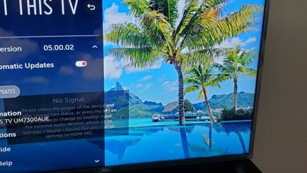 """LG 50"""" 4K UHD Smart TV UM7300AUE for Sale in Pittsburgh,  PA"""