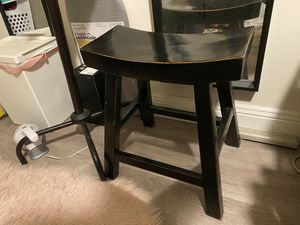 Wooden saddle stool for Sale in San Francisco, CA