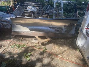 7 foot snow dog plow for Sale in Boston, MA