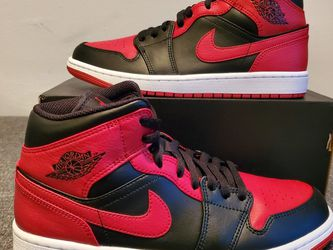 """Jordan 1 Mid """"Banned"""" Size 8.5 for Sale in Los Angeles,  CA"""