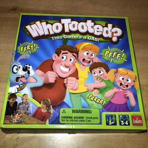 Who Tooted Game (All Pieces Included) for Sale in Burrillville, RI