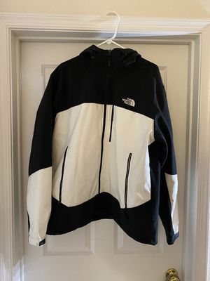 North Face Jacket White/black size XL for Sale in Manassas, VA