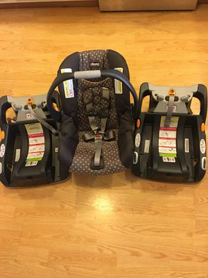Chicco Keyfit 30 Car seat with Two Bases for Sale in East Greenbush, NY