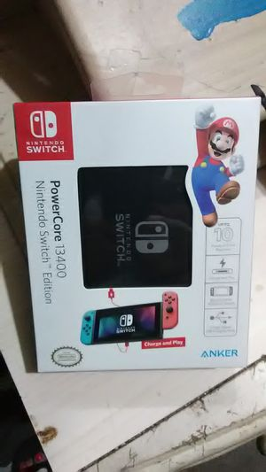 Nintendo Switch PowerCore 13400 for Sale in Marysville, WA