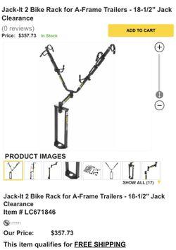 Jack-IT Bike Rack (Trailer/RV) for Sale in Bonita,  CA