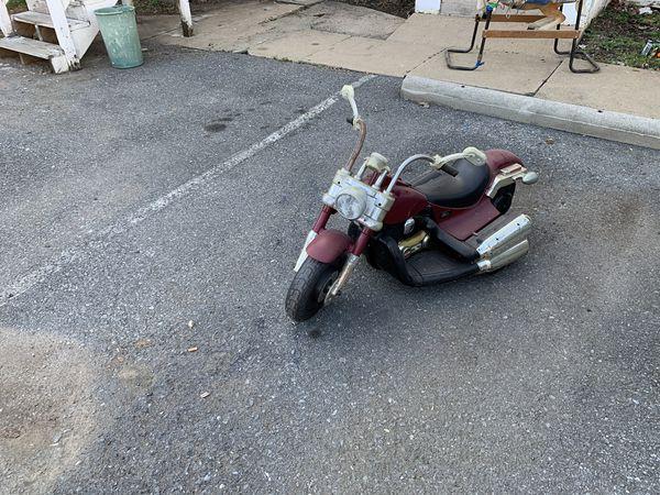 Vintage Harley Davison Motorcycle For Children