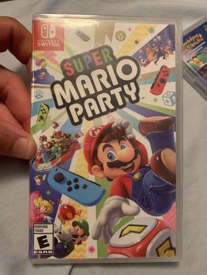 Super Mario Party (BrandNew) Nintendo Switch for Sale in Riverside, CA