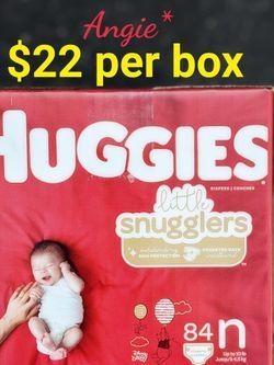 Huggies Little Snugglers Size Newborn for Sale in Long Beach,  CA