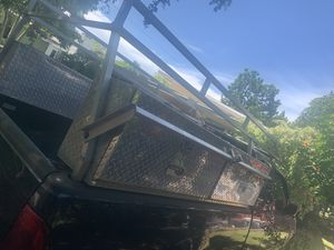 Truck toolbox and ladder rack for Sale in Hollywood, FL