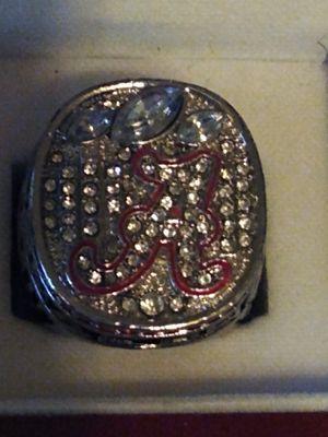 Alabama Crimson Tide Championship Ring for Sale in BRECKNRDG HLS, MO