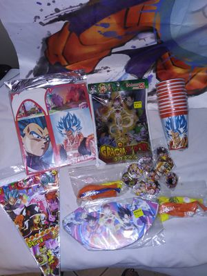 Dragon ball z party bundle for Sale in Hacienda Heights, CA