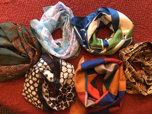 6 beautiful scarves for Sale in Grayslake, IL