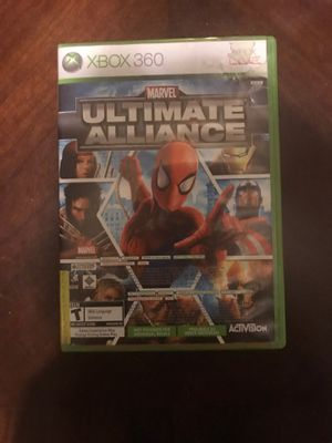 Marvel ultimate alliance and Forza mortorsport 2 for Xbox 360 for Sale in Sanger, CA