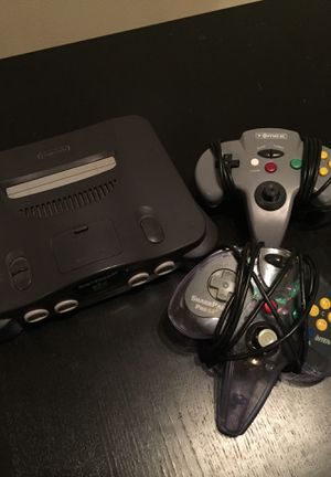 Nintendo 64 with cords and controllers for Sale in Denver, CO