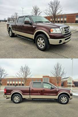 💥💥2008 Ford F-150 King Ranch/UP FOR SALE * ZERO ISSUES > RUNS AND DRIVES LIKE NEW!💥💥 for Sale in Chapel Hill, TN