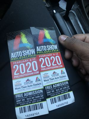 Auto show tickets for Sale in Yeadon, PA
