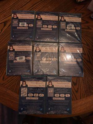 Tattered lace interchangeable embossing folders for Sale in Gaffney, SC
