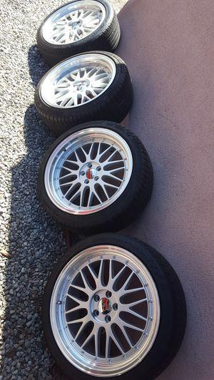rims 18 replicas bbs good condition for Sale in Monrovia, CA
