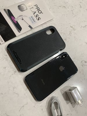 Space grey iPhone X 64gb T-Mobile or metro pcs 480obo for Sale in Phoenix, AZ