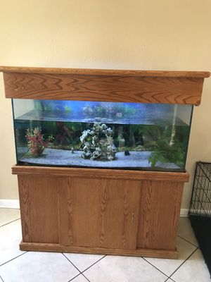 75 Gallon Fish Tank and Stand for Sale in Phoenix, AZ