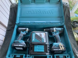 Brand new Makita 18v brushless Impact driver and hammer drill for Sale in Anchorage, AK