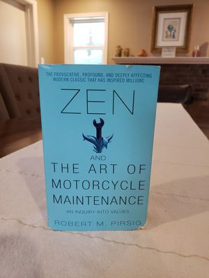 Zen And The Art of Motorcycle Maintenance book for Sale in Altamonte Springs, FL