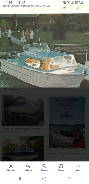 70s Star craft aluminum with trailer for Sale in Orlando, FL