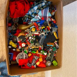 Box Of Kids Stuff Toys Boys Clothes Ninja Turtles Dinosaur Sweaters More for Sale in Miami,  FL