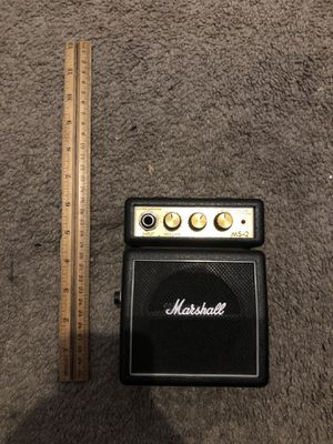 Marshal MS-2 Miniguitar amp for Sale in Los Angeles, CA