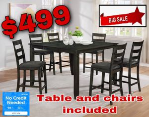 Table and chairs included for Sale in Visalia, CA