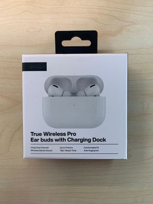 Wireless headphones with charging dock for Sale in Pataskala, OH
