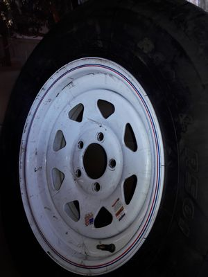 Trailer rim and tire brand new for Sale in Phoenix, AZ