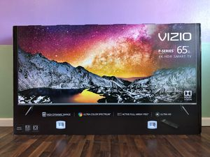 """VIZIO P65-F1 65"""" P SERIES 4K UHD HDR LED SMART TV 120HZ 2160P *FREE DELIVERY* for Sale in Everett, WA"""