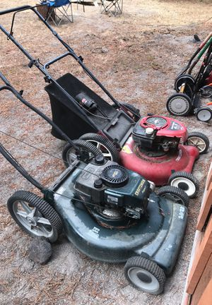 Two good mowers both need work for Sale in Bend, OR