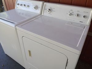 Kenmore washer and gas dryer set $380 for Sale in Long Beach, CA